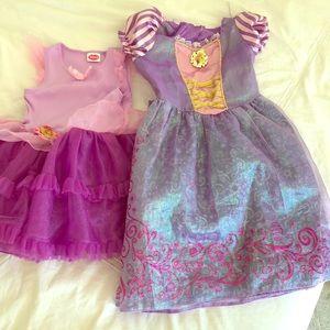 Dresses tangled Rapunzel
